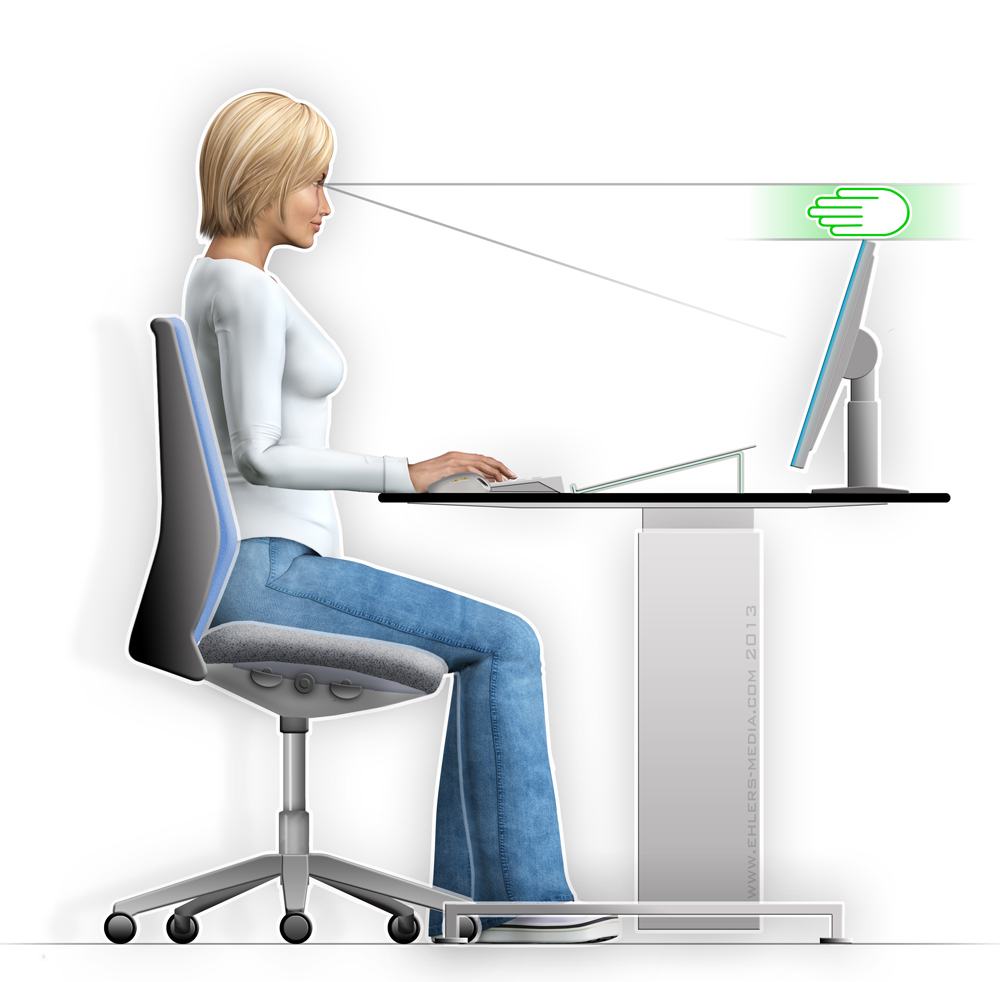 ergonomie medien didaktik beratung richtig sehen. Black Bedroom Furniture Sets. Home Design Ideas